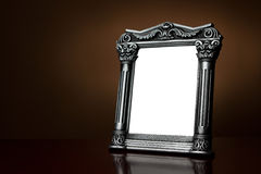 Vintage blank picture frame with clipping path Royalty Free Stock Photos