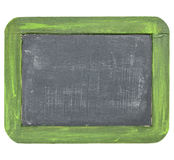Vintage blank slate blackboard Stock Image