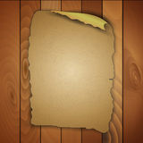 Vintage blank wooden panels Stock Images