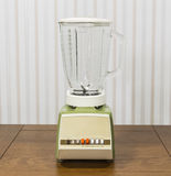 Vintage blender on Wood Table Royalty Free Stock Photography
