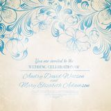 Vintage blue background Royalty Free Stock Photography