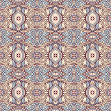 Vintage blue and beige pattern Royalty Free Stock Images