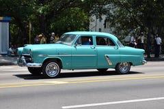 Vintage Blue Car Royalty Free Stock Images