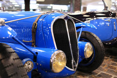 Vintage blue car Royalty Free Stock Photo