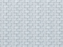 Vintage Blue color brick wall background. Brick Textures Series Stock Photo