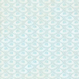 Vintage Blue Fan Background repeat wallpaper. Art deco style stock photography