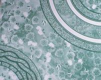 Vintage blue Floor Tiles stock image