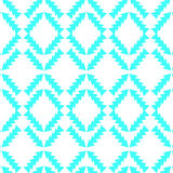 Vintage blue geometric background, . Cute texture for desi Stock Images