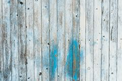 Free Vintage Blue Gray Colored Wood Wall Background Texture Stock Images - 132542794