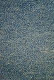 Vintage blue jeans, denim texture background. Stock Image