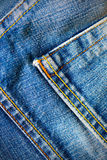 Vintage blue jeans Royalty Free Stock Photos
