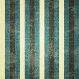 Vintage blue line seamess pattern Royalty Free Stock Photo