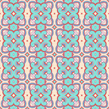 Vintage blue and purple pattern Royalty Free Stock Photo