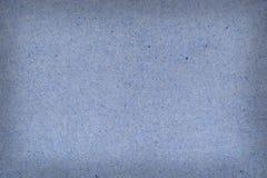 Vintage blue texture of granular heavy cardboard Stock Images