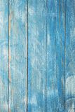 Vintage blue wood background texture with knots and nail holes. Old painted wood. Blue abstract background. Royalty Free Stock Photography