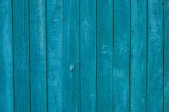 Vintage blue wooden texture background Stock Image