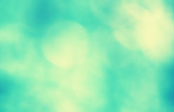 Vintage blurred blue green background. Vintage blurred bright blue green azure color background. Vintage filter effect used Royalty Free Stock Photography