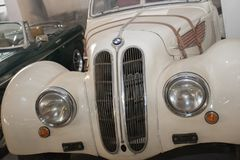 Vintage BMW from 1939. Exposed in Car Museum in Belgrade stock images