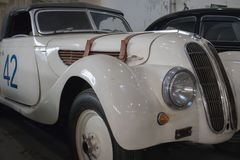Vintage BMW from 1939. Exposed in Car Museum in Belgrade stock photo