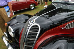 Vintage bmw sports car front detail Royalty Free Stock Image