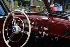 Vintage Bmw Sports Car Interior Stock Photography