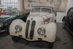 Vintage BMW from 1939. Exposed in Car Museum in Belgrade royalty free stock photography