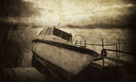 Vintage boat Royalty Free Stock Photos