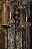 Vintage boiler room Royalty Free Stock Images