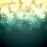 Vintage bokeh background. Stock Photography