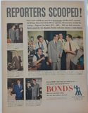 Vintage Bond's Advertisement Stock Images