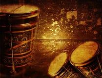 Vintage bongo Stock Image