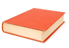 An vintage book. An isolated oldest book alone Stock Image