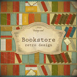 Vintage Book Background In Scrapbooking Style Royalty Free Stock Image