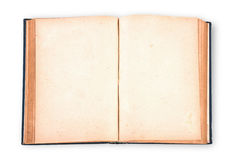 Vintage book with clipping path. Vintage book on white background with clipping path royalty free illustration