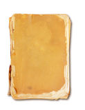 Vintage book  with clipping path. Royalty Free Stock Photo
