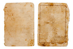 Vintage book or copybook cover isolated Stock Photo
