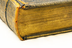Vintage book edge detail Royalty Free Stock Images