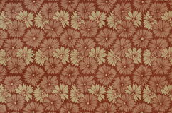Vintage book-end paper, floral backgrounds Stock Image