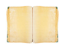 Vintage book isolated with clipping path. Royalty Free Stock Image