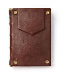 Vintage book in leather cover Royalty Free Stock Images