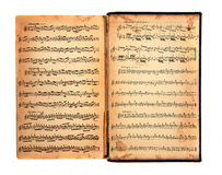 Vintage Book of Music Royalty Free Stock Photos