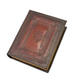 Vintage book. Over white background Royalty Free Stock Images