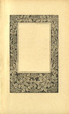 Vintage Book Page royalty free stock images