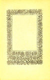 Vintage book page. With an illustration of a floral frame of mistletoes Stock Photos
