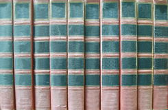 Vintage book saddle Royalty Free Stock Image