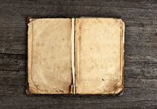 Vintage book on wooden background Royalty Free Stock Image