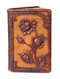 Vintage bookcover. With beautiful floral decoration Stock Photos