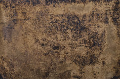 Vintage bookcover texture. Grungy texture of a vintage bookcover with stains, scratches and wrinkles Royalty Free Stock Photos