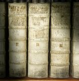 Vintage Books Royalty Free Stock Photo