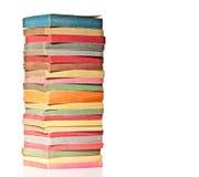 Vintage books background Stock Images
